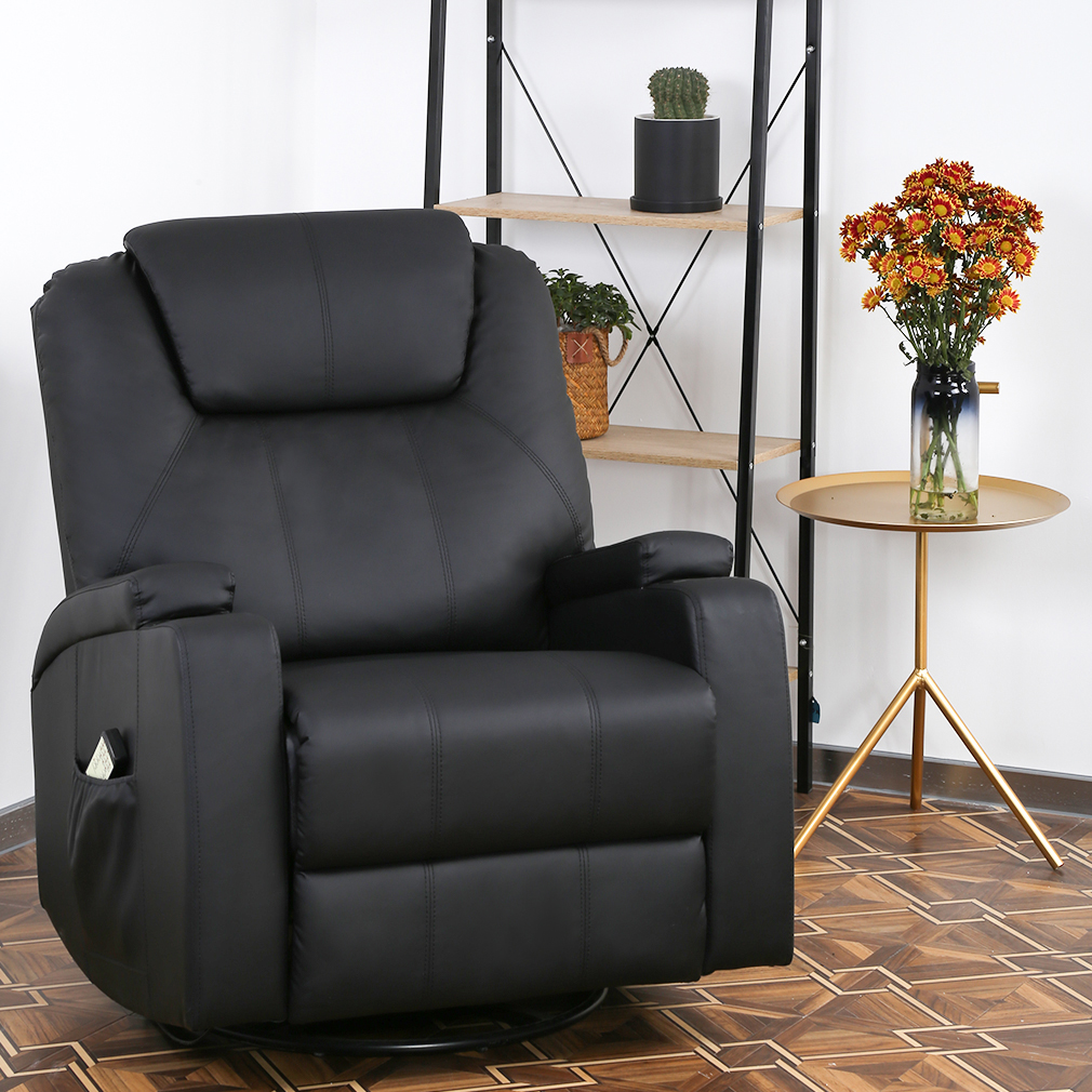 Recliner Chair Reclining Sofa Pu Leather Power Recliner Electric