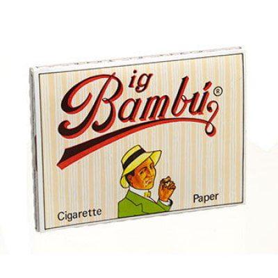 4 Packs Booklets of Big Bambu Cigarette Rolling PapersBig Bambu (Spain) Lot of 4 Booklets By Bambu cigarette paper