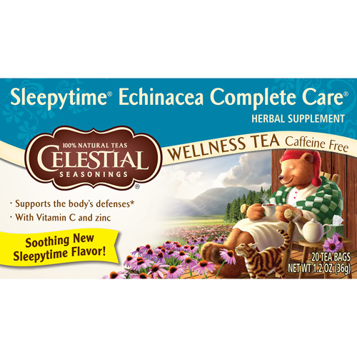 Sleepy Time Echinacea Complete Care Wellness Tea 20ct  (Pack of 6)