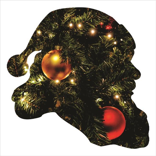 Precision Metal Art CHRISTMAS-18SANTA 18 in. Seasonal ...