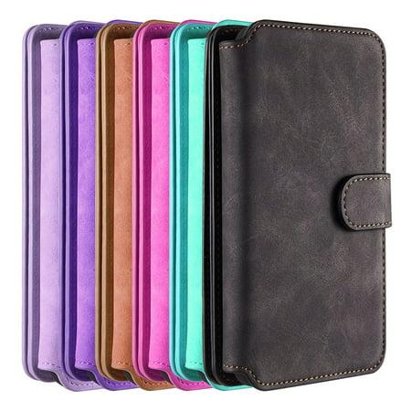 Samsung Galaxy S9 Plus Luxury Coach Series Flip Wallet Case
