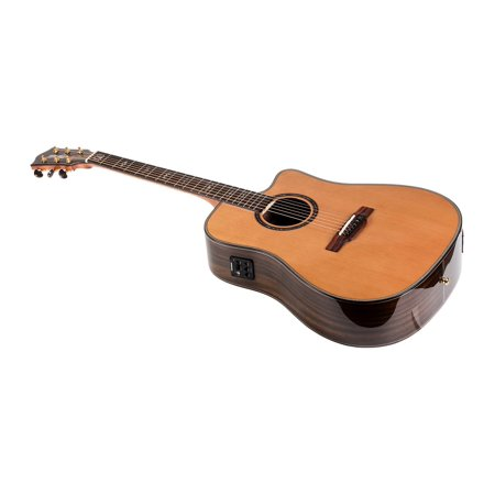 monoprice idyllwild cedar solid top acoustic electric guitar with fishman pickup tuner and gig. Black Bedroom Furniture Sets. Home Design Ideas