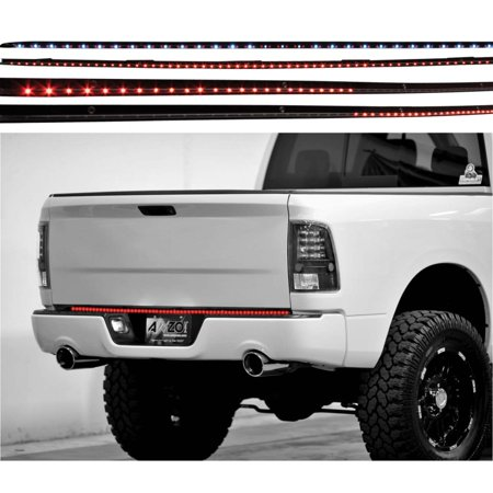 60in Bar (ANZO USA 531058 LED TAILGATE BAR LED TAILGATE BAR WITH AMBER SCANNING, 60IN 6 FUNCTION )