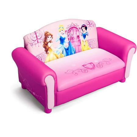 Disney Princess Sofa With Storage Walmart Com