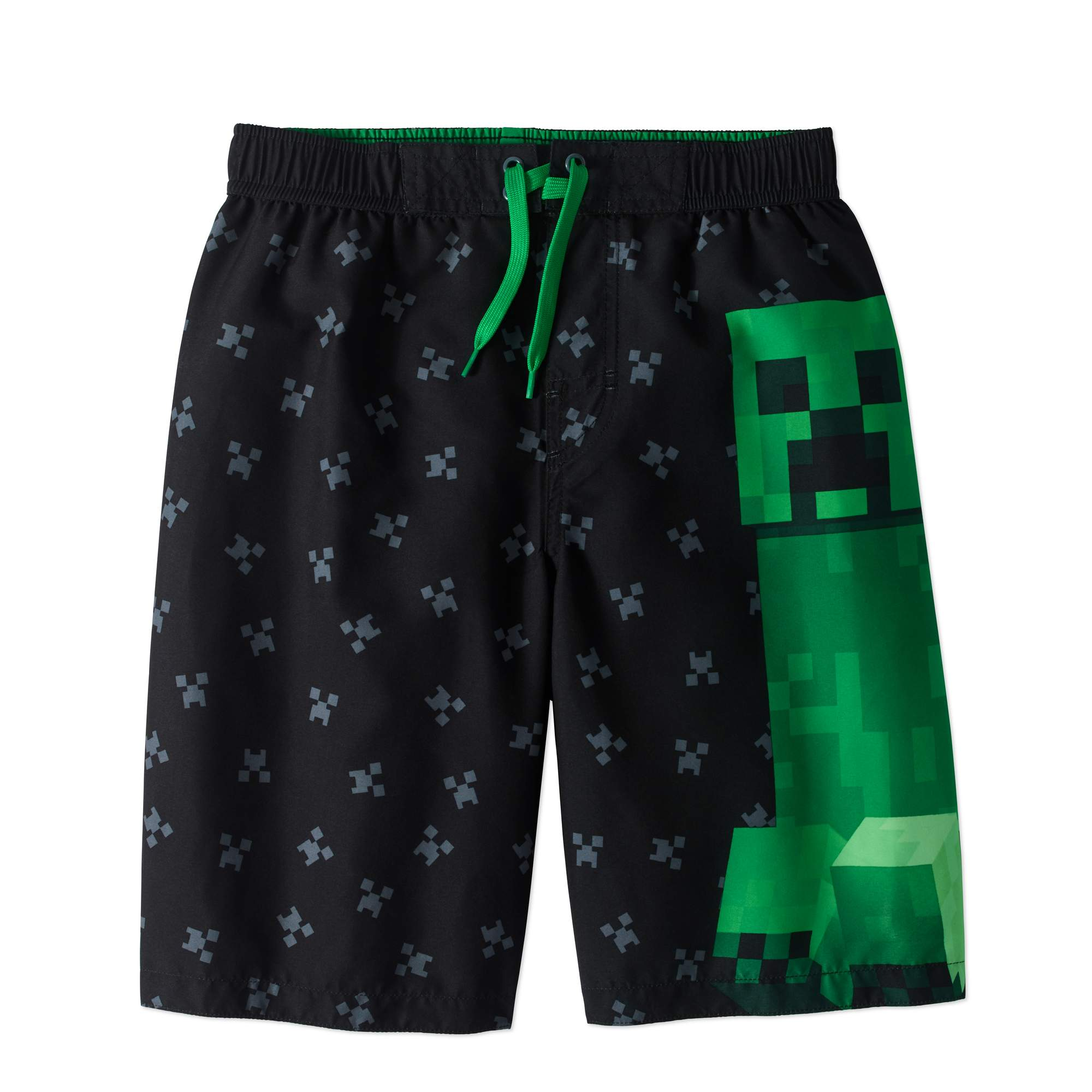 Minecraft Boys' Graphic Swim Trunks