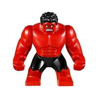 LEGO Marvel Loose Red Hulk Minifigure