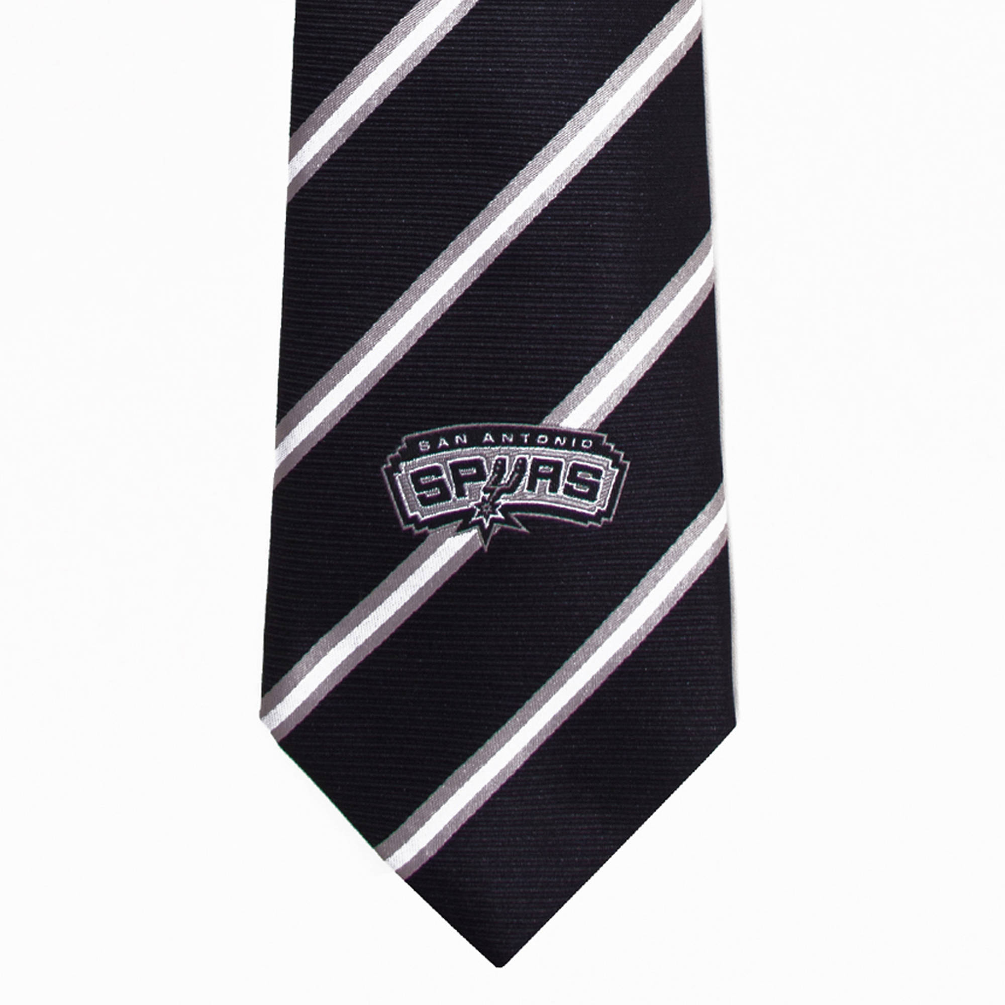 NBA Spurs Stripe One Necktie