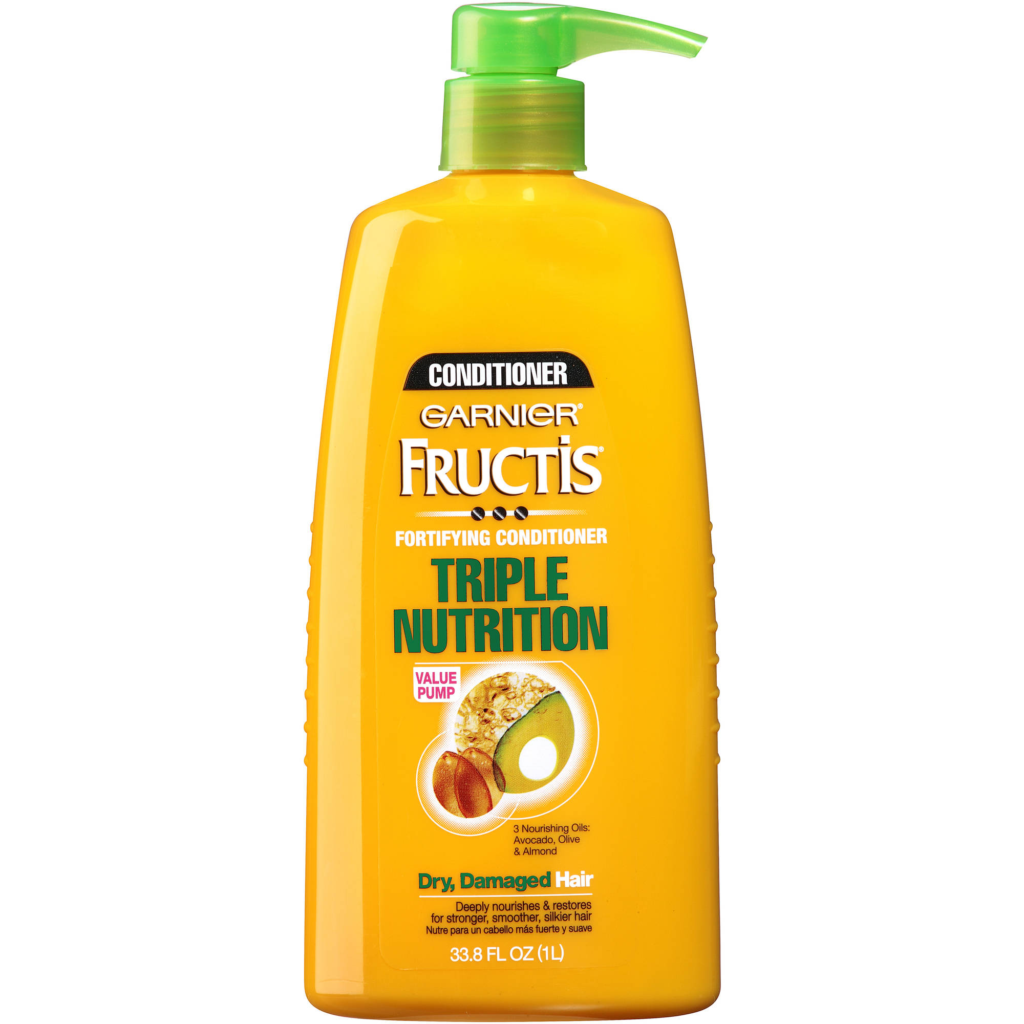 Garnier Fructis Triple Nutrition Fortifying Conditioner, 33.8 fl oz