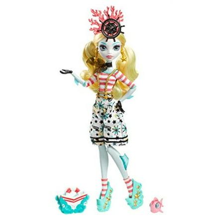Monster High Shriekwrecked Nautical Ghouls Lagoona Blue Doll - Monster High Spectra Vondergeist Dress Up