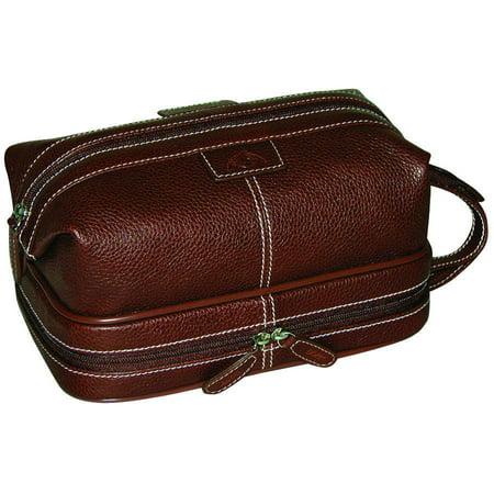 Dopp Country Saddle Travel Kit with Bonus Items (Leather Toilet Bag)