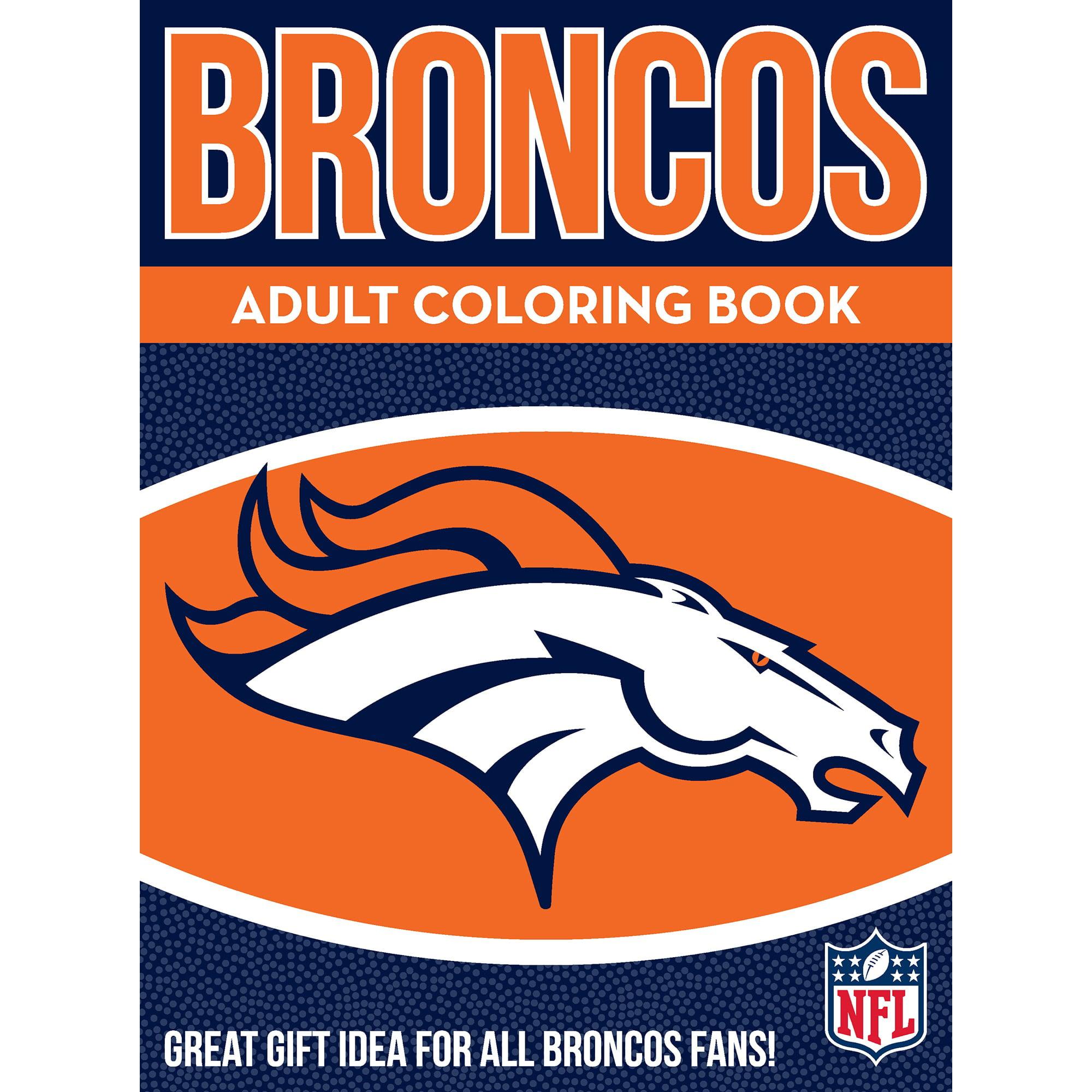 In The Sports Zone NFL Adult Coloring Book, Denver Broncos - Walmart.com -  Walmart.com