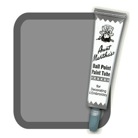 900 Acrylic (Aunt Marthas Ball Point Paint Tube 1oz.- Graphite #40 )