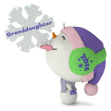 Hallmark Ornament 2016 Granddaughter