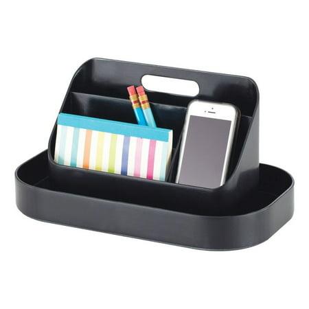 Bo-te - outils en plastique Safco SAF3286BL Desktop, noir - image 1 de 1