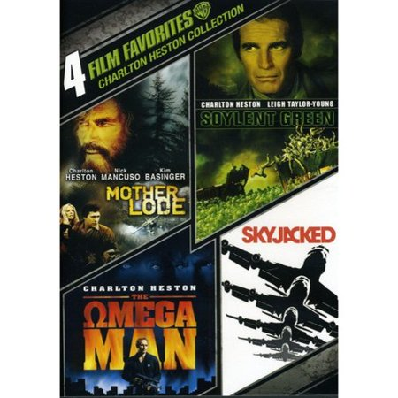 4 Film Favorites  Charleton Heston   Mother Lode   Soylent Green   Skyjacked   The Omega Man  Widescreen