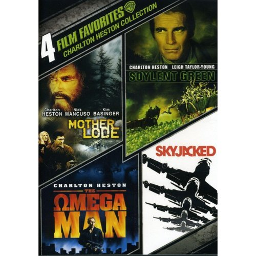4 Film Favorites: Charleton Heston - Mother Lode / Soylent Green / Skyjacked / The Omega Man (Widescreen)