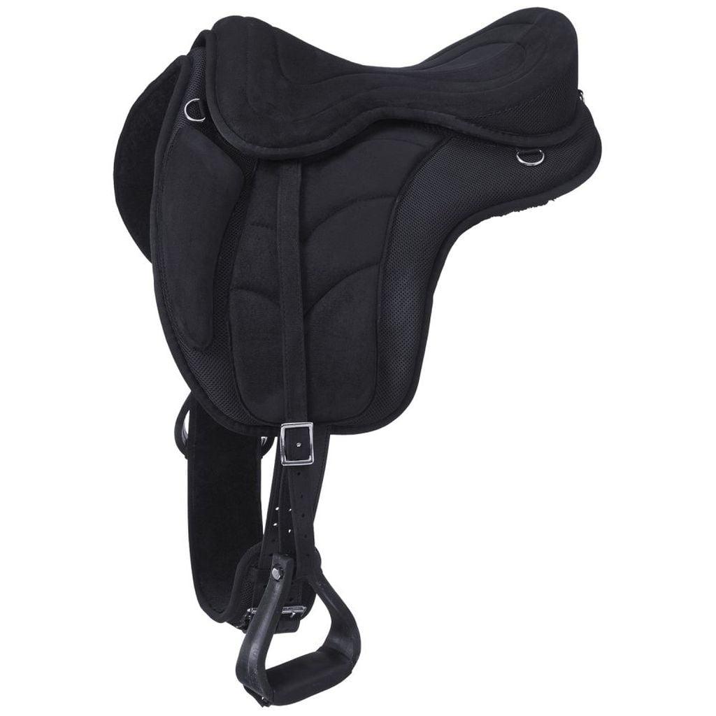 Tough-1 Saddle Treeless Endurance Horse Trail Durable Sho...