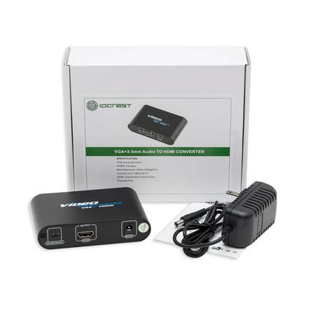 Syba VGA HD15 + 3.5mm Audio to HDMI Converter