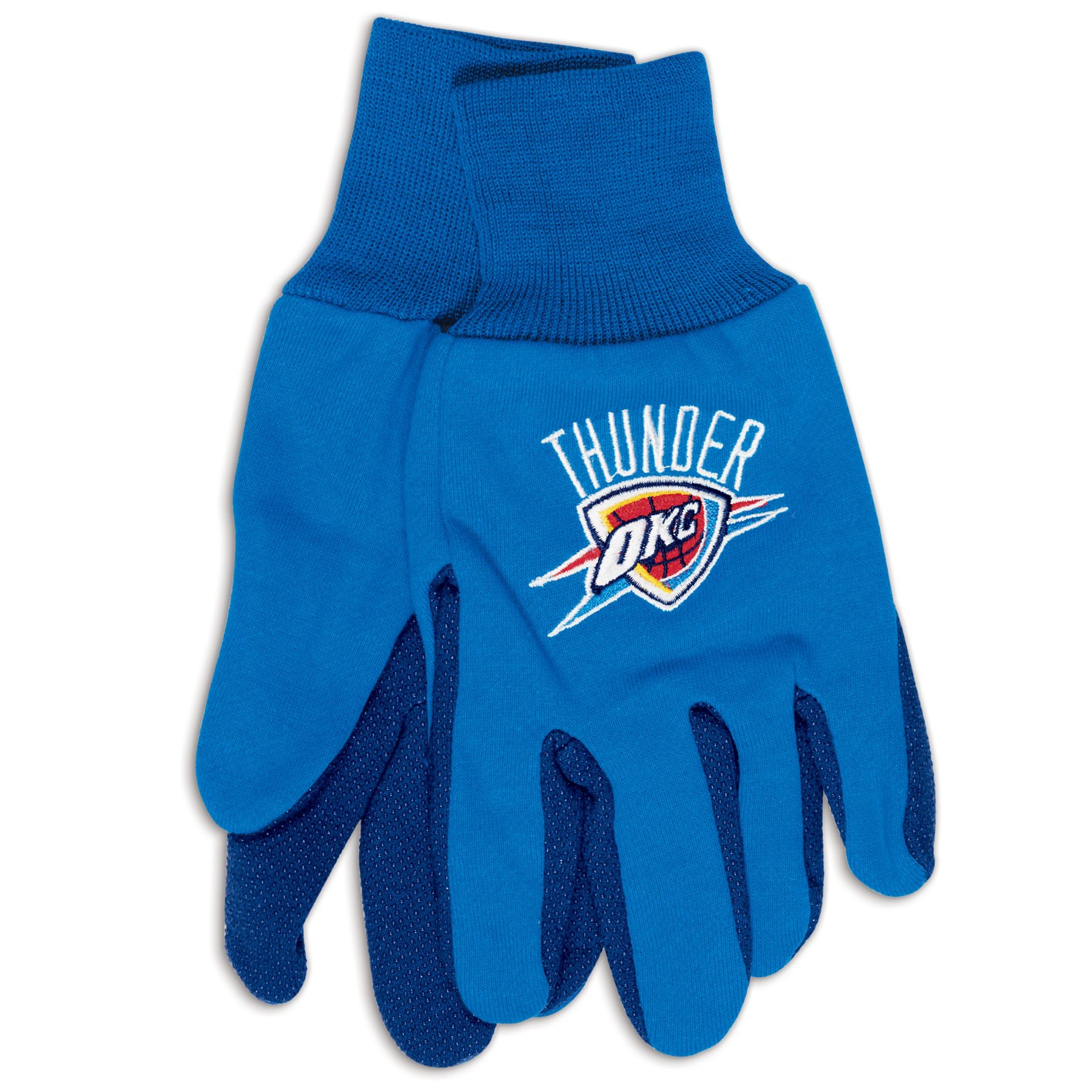 Oklahoma City Thunder Official NBA One Size Sport Utility Work Gloves by Wincraft by Wincraft
