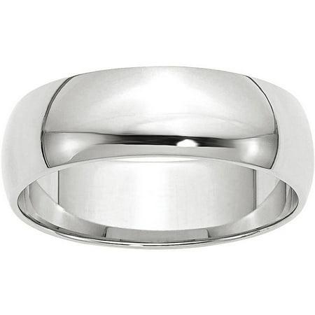 14KW 6mm LTW Half Round Band Size 7 (14 Kw Diamond Band)