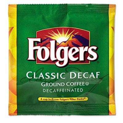 Coffee Filter Packs, Decaffeinated, In-Room Lodging, .9oz, 200/Carton, Sold as 1 Carton, 200 Each per Carton
