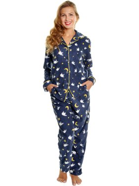 Angelina Sheep Fleece Long Sleeve Pajama Set w/ Long PJs Pants Sleepwear