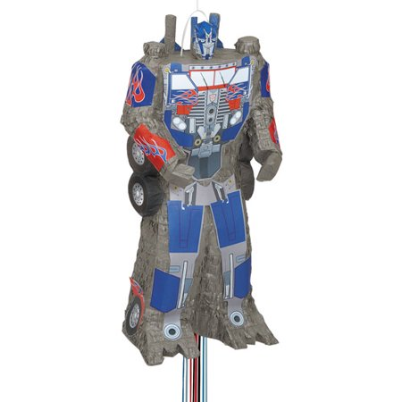 Transformers Pinata, Shaped Pull String (Transformer Pinata)