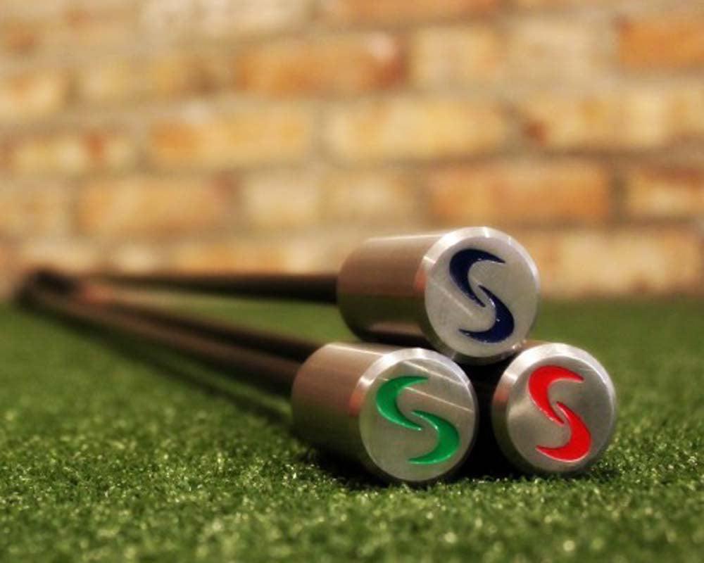 SuperSpeed Golf Men's Golf Swing Training System 3 Piece Club Set Super Speed by SuperSpeed