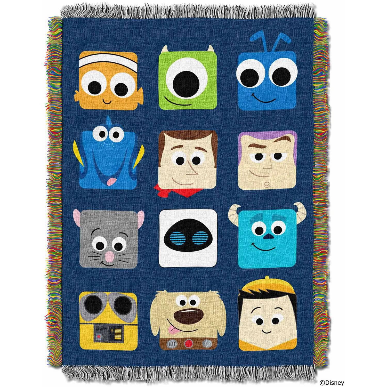 "Disney Pixar's ""Pixarland"" 48"" x 60"" Woven Tapestry Throw"