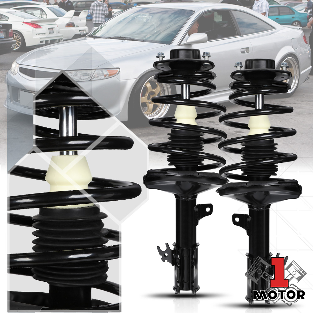 2 FRONT right and left Complete Strut /& Coil Spring Assembly Camry fit 97-01 TOYOTA