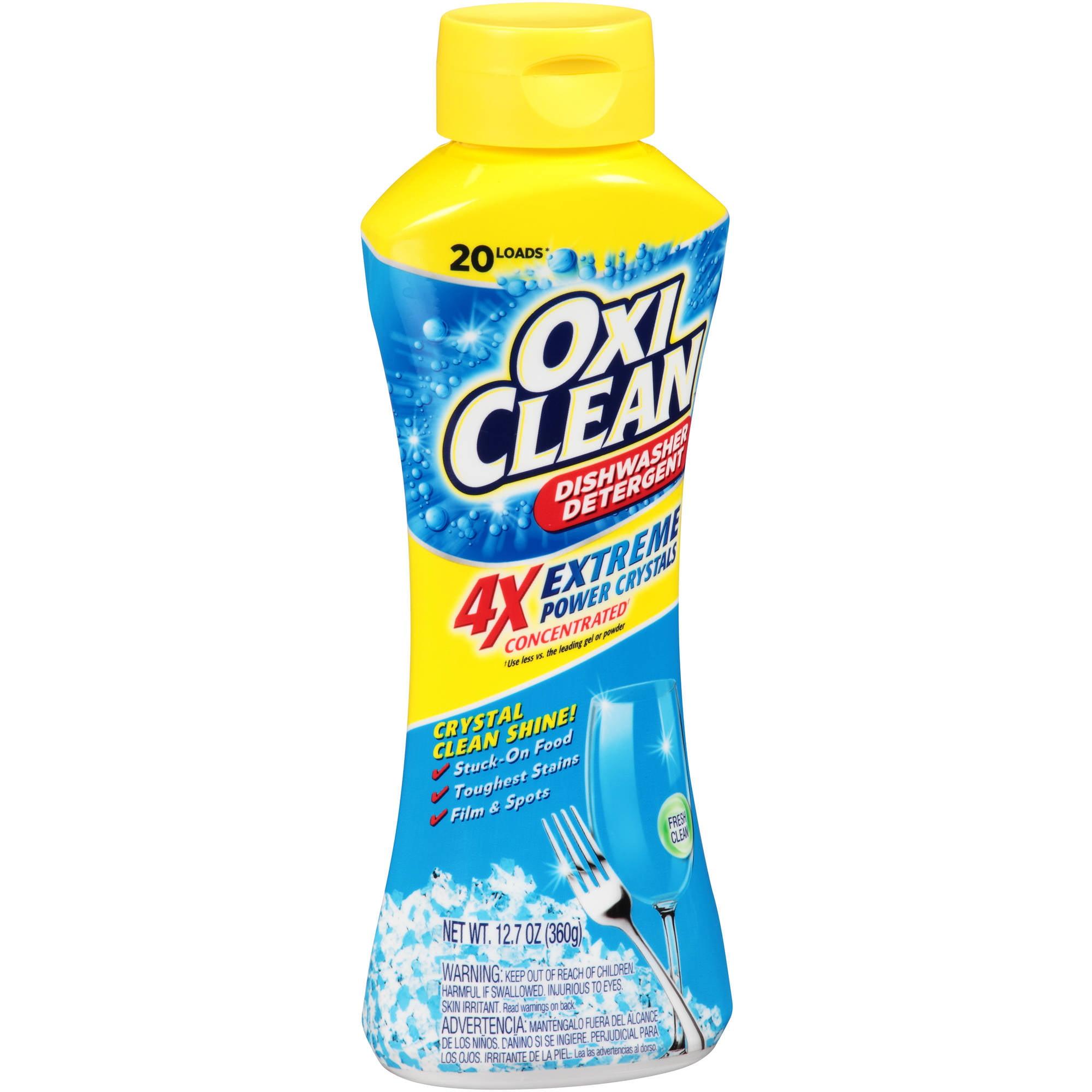 Gentil OxiClean Lemon Clean Dishwasher Detergent, 12.7 Oz   Walmart.com