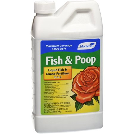 Lawn & Garden Products Monterey Fish and Poop