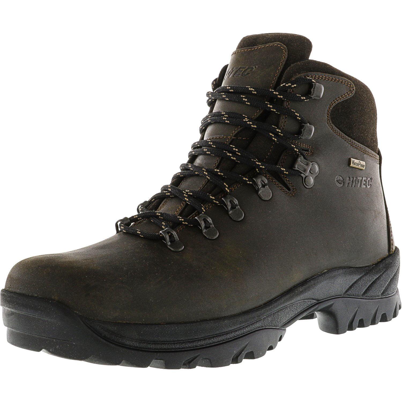 Hi-Tec Men's Ravine Waterproof Brown Ankle-High Industrial and Construction Shoe 11.5M by Hi-Tec