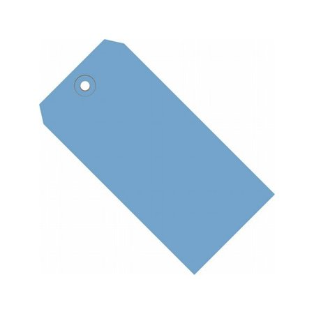 Box Packaging Colored Shipping Tag #2, 13 Point, Plain, A, B, C, D, E, F, G, H, I, 3.25