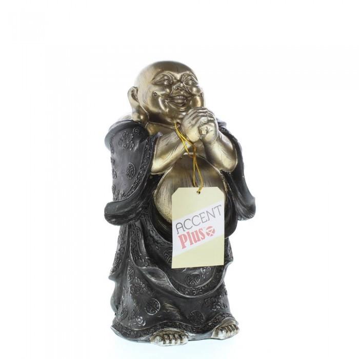 STANDING HAPPY BUDDHA FIGURINE - image 6 of 6