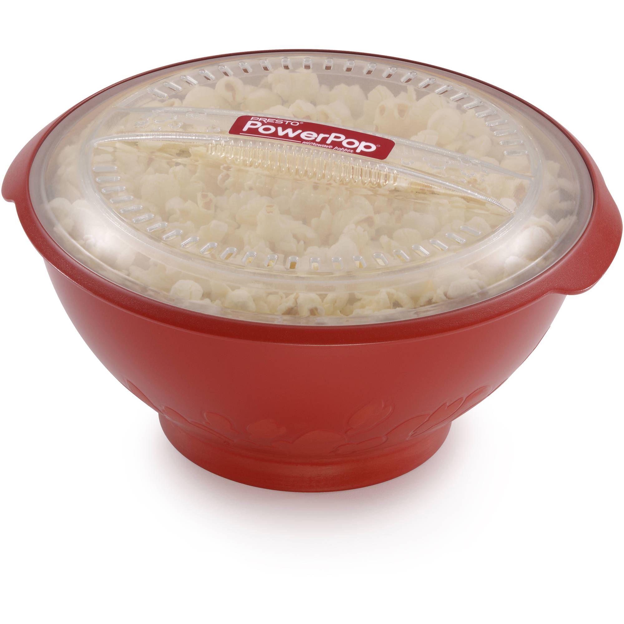 Presto Powerpop Microwave Corn Popper, Red