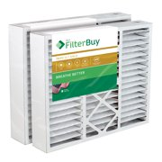 FilterBuy 20x25x5 Honeywell FC100A1037 Compatible Pleated AC Furnace Air Filters (MERV 11, AFB Gold). Replaces Honeywell 203720, FC35A1027, FC100A1037, FC200E1037, Carrier FILXXCAR-0020. 2 Pack.