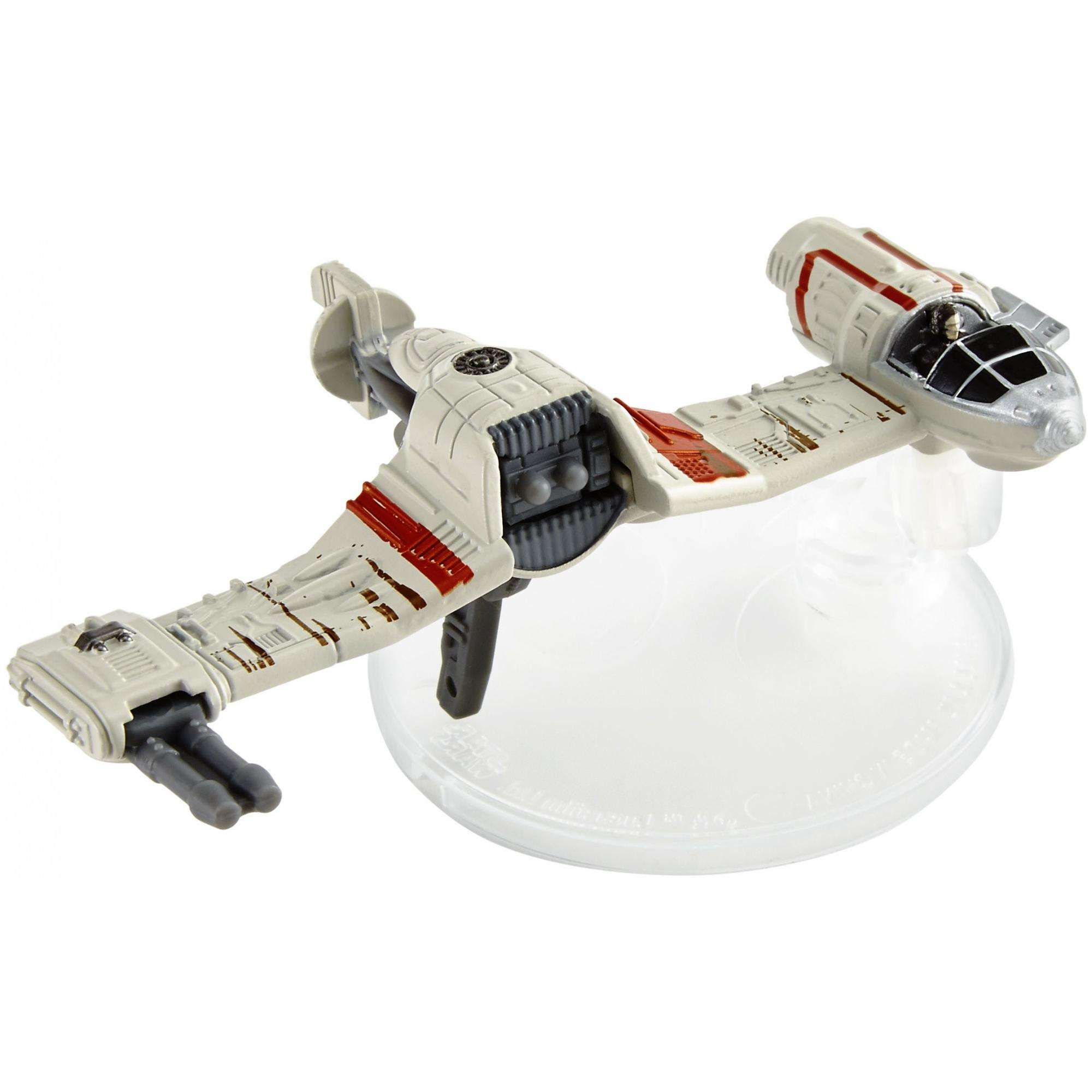 Hot Wheels Star Wars: The Last Jedi Crait Speeder, Starship