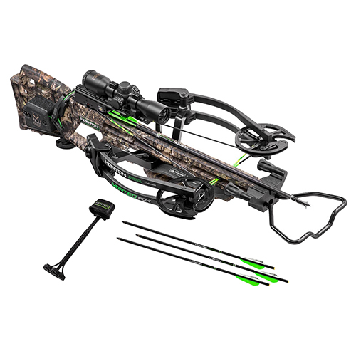 Vortec RDX Crossbow Package with Pro-View 2 Scope, ACUdraw, Mossy Oak Country NH17060-5522 by Horton