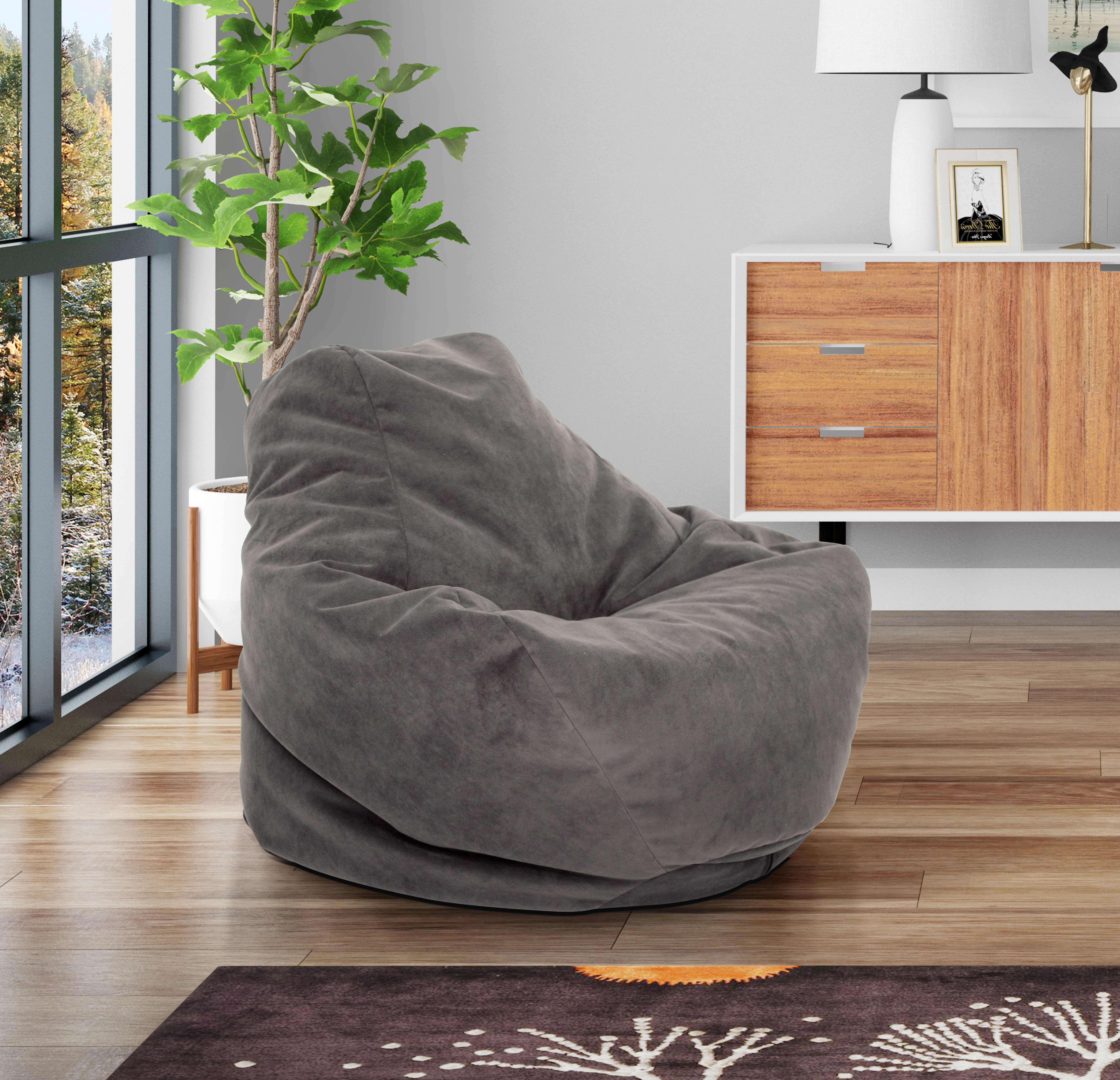 Mainstays Soft Sided Lounger Chair