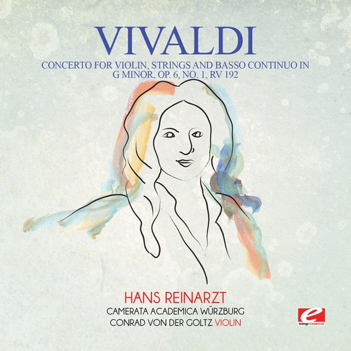Vivaldi Concerto for Violin Strings & Basso Continuo in G [CD] by