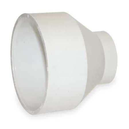 MUELLER INDUSTRIES Pipe Reducer or Increaser,PVC,4 x 3 In