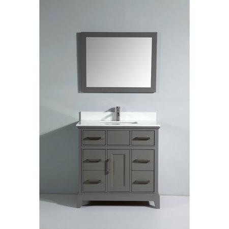 vanity art phoenix stone 36 single bathroom vanity with mirror