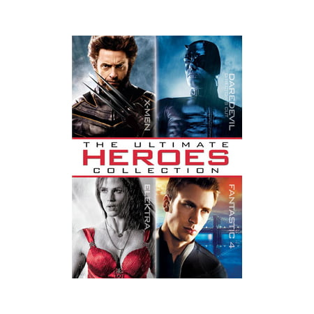 The Ultimate Heroes Collection (DVD)](Jennifer Garner And Ben Affleck Halloween)