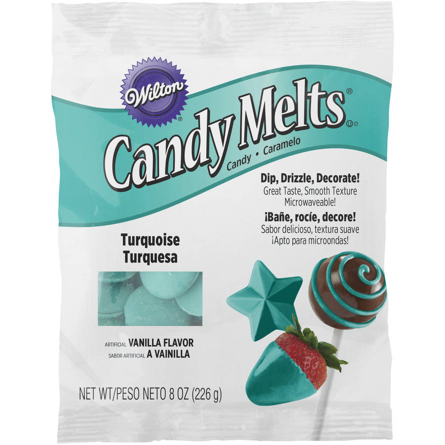 Wilton Candy Melts, 8 Ounces, Turquoise
