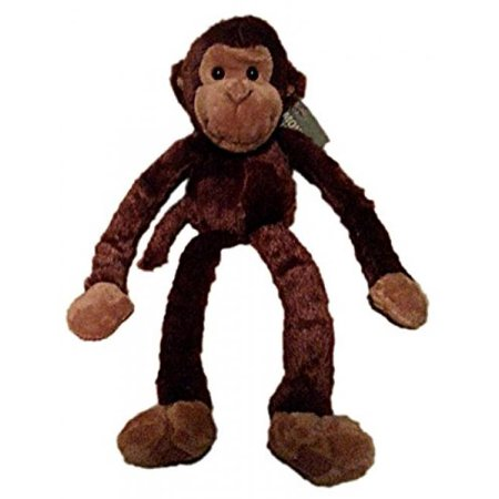Monkey Squirrel Stuffed Toy - One Large Hanging Velcro Hand Stuffed Animal Plush Monkey by Adventure Planet