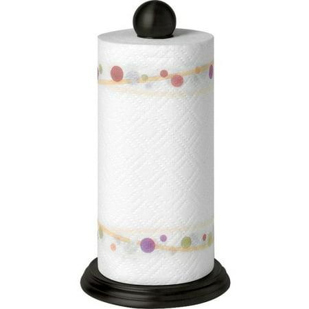 Luna Paper Towel Holder Black