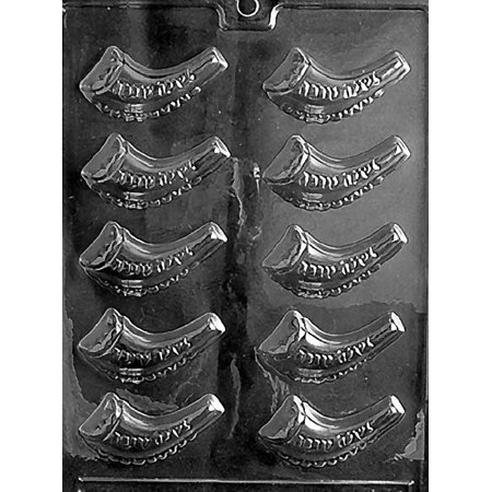 Shofar Jewish Horn Chocolate Mold Candy Soap Mint Mould Birthday Party Favor m345