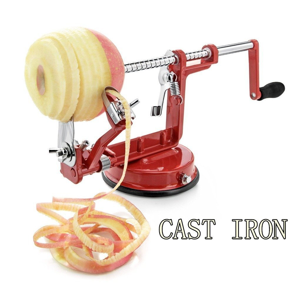 Stainless Steel Apple Peeler Corer and Slicer By HuiJia