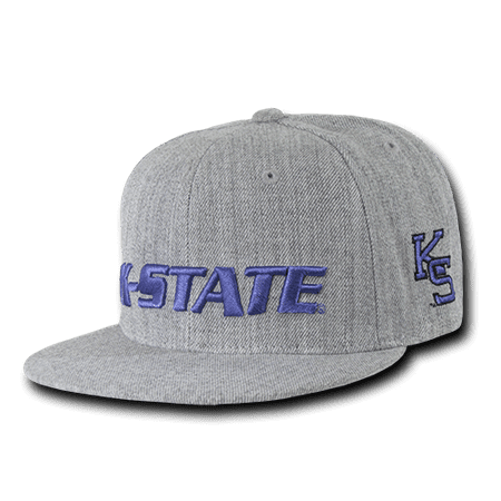 Kansas State Wildcats 4 Light (NCAA Kansas State University Wildcats Game Day Fitted Caps Hats)